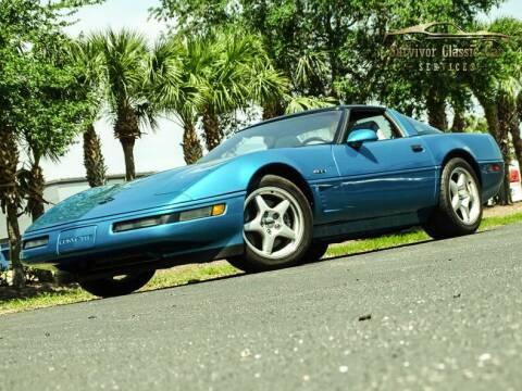1995 Chevrolet Corvette for sale at SURVIVOR CLASSIC CAR SERVICES in Palmetto FL
