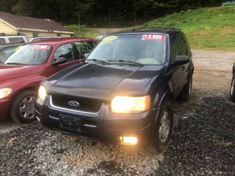 2003 Ford Escape for sale at Auto Town Used Cars in Morgantown WV
