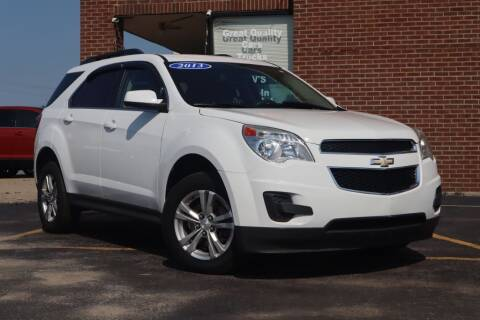 2013 Chevrolet Equinox for sale at Hobart Auto Sales in Hobart IN