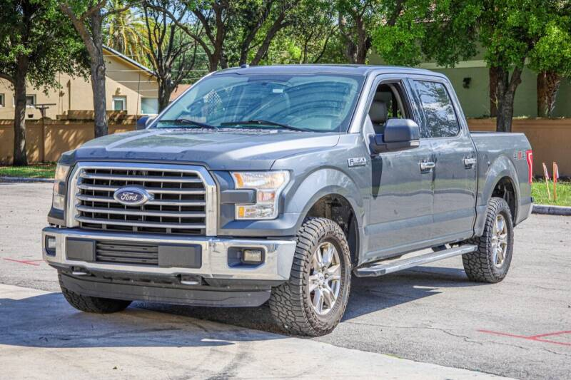 2016 Ford F-150 for sale at Easy Deal Auto Brokers in Hollywood FL