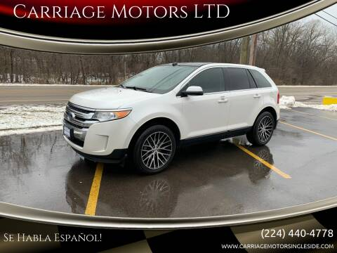 2012 Ford Edge for sale at Carriage Motors LTD in Ingleside IL