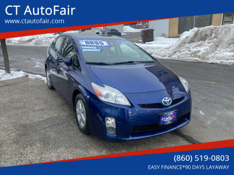 2010 Toyota Prius for sale at CT AutoFair in West Hartford CT