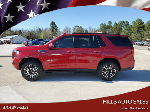 2021 GMC Yukon for sale at Hills Auto Sales in Salem AR