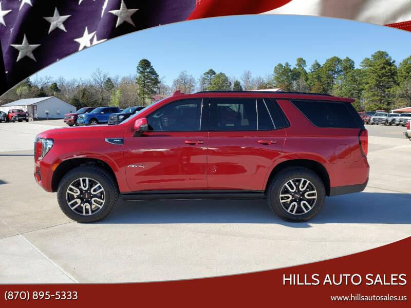 2021 GMC Yukon for sale at Hills Auto Sales in Salem AR