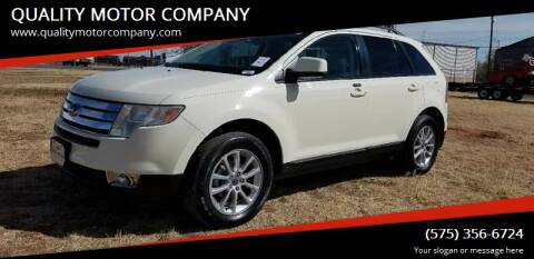 2007 Ford Edge for sale at QUALITY MOTOR COMPANY in Portales NM