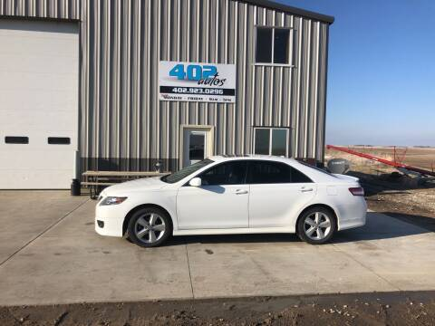2011 Toyota Camry for sale at 402 Autos in Lindsay NE