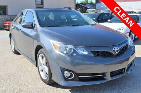 2012 Toyota Camry for sale at LAKESIDE MOTORS, INC. in Sachse TX