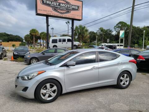 2013 Hyundai Elantra for sale at Trust Motors in Jacksonville FL