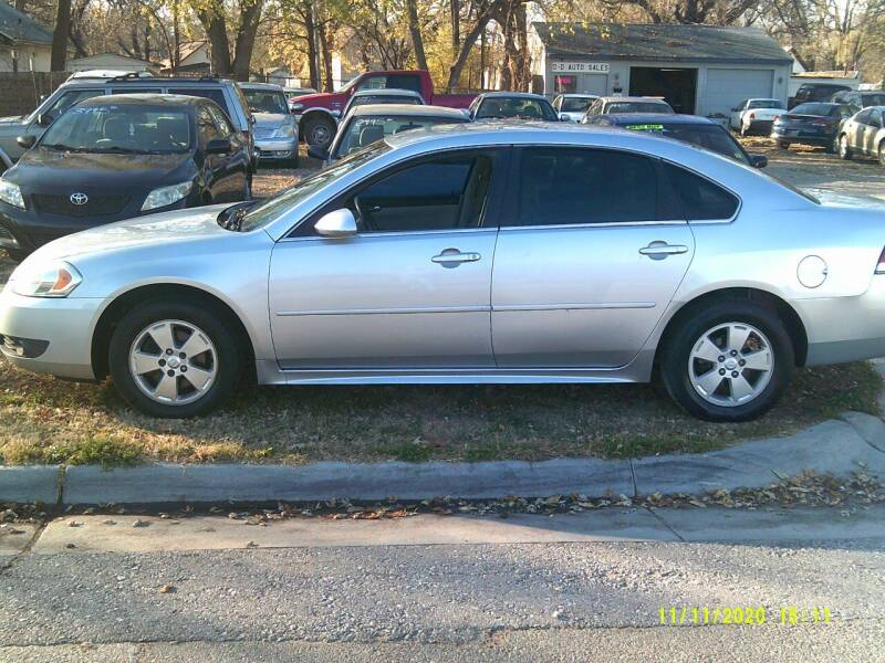 2011 Chevrolet Impala for sale at D & D Auto Sales in Topeka KS