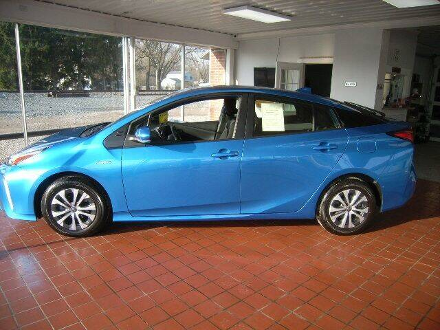 2021 Toyota Prius for sale at HALL OF FAME MOTORS in Rittman OH