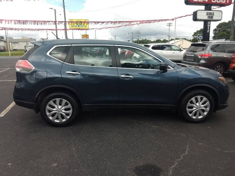 2014 Nissan Rogue for sale at Kenny's Auto Sales Inc. in Lowell NC