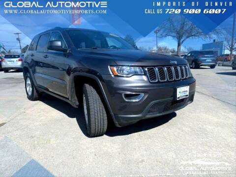 2017 Jeep Grand Cherokee for sale at Global Automotive Imports of Denver in Denver CO