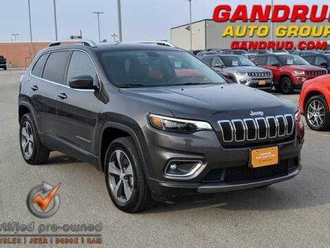 2019 Jeep Cherokee for sale at Gandrud Dodge in Green Bay WI