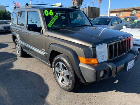 2006 Jeep Commander for sale at North County Auto in Oceanside CA