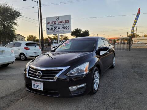 2014 Nissan Altima for sale at A1 Auto Sales in Sacramento CA