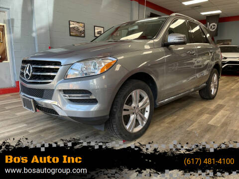 2015 Mercedes-Benz M-Class for sale at Bos Auto Inc in Quincy MA