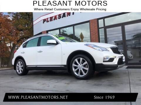 2017 Infiniti QX50 for sale at Pleasant Motors in New Bedford MA