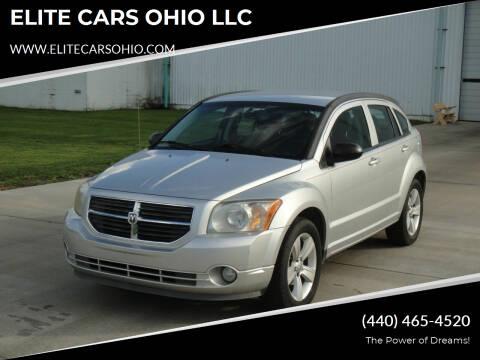 2011 Dodge Caliber for sale at ELITE CARS OHIO LLC in Solon OH