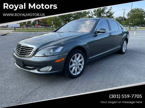 2007 Mercedes-Benz S-Class for sale at Royal Motors in Hyattsville MD