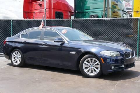 2015 BMW 5 Series for sale at MATRIX AUTO SALES INC in Miami FL