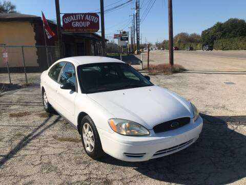 2005 Ford Taurus for sale at Quality Auto Group in San Antonio TX