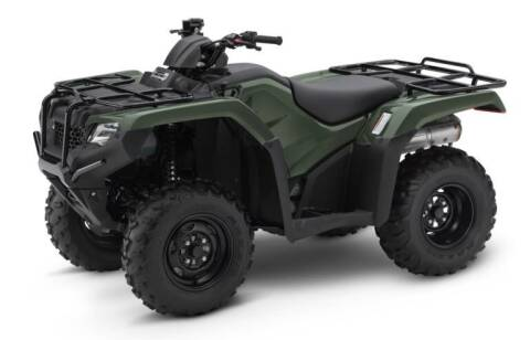 2021 Honda Rancher 420   TRX420FM1 for sale at Queen City Motors Inc. in Dickinson ND