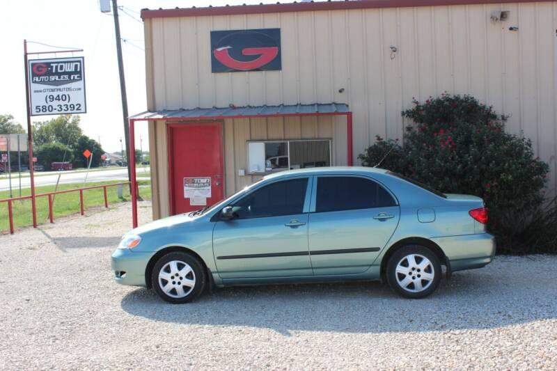 2006 Toyota Corolla CE 4dr Sedan w/Automatic - Gainesville TX