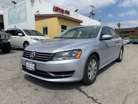 2012 Volkswagen Passat for sale at Auto Ave in Los Angeles CA