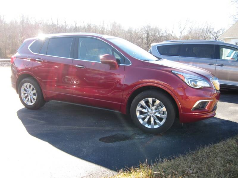2018 Buick Envision for sale at JANSEN'S AUTO SALES MIDWEST TOPPERS & ACCESSORIES in Effingham IL