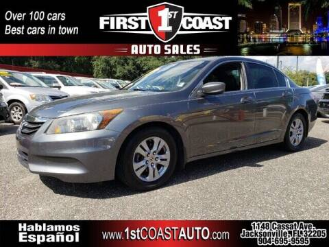 2012 Honda Accord for sale at 1st Coast Auto -Cassat Avenue in Jacksonville FL
