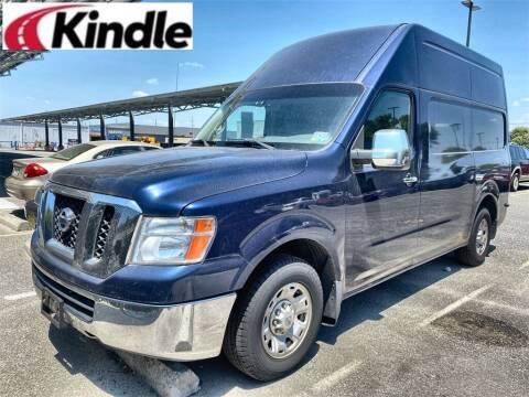 2012 Nissan NV Cargo for sale at Kindle Auto Plaza in Middle Township NJ
