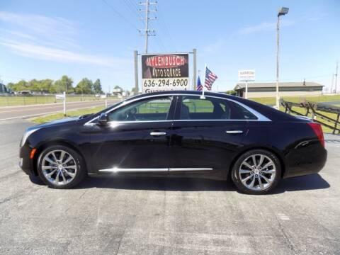 2013 Cadillac XTS for sale at MYLENBUSCH AUTO SOURCE in O` Fallon MO