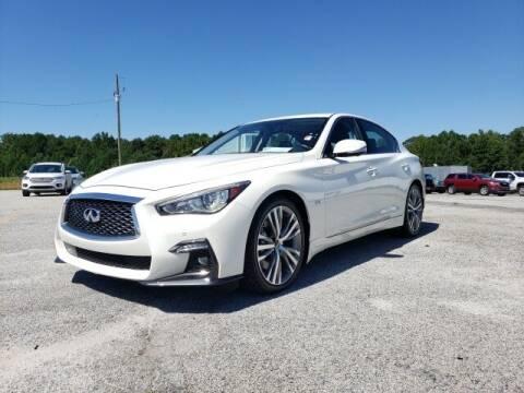 2019 Infiniti Q50 for sale at Hardy Auto Resales in Dallas GA
