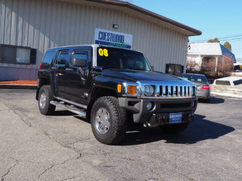 2008 HUMMER H3 for sale at Crestwood Auto Sales in Swansea MA