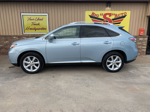 2011 Lexus RX 350 for sale at BIG 'S' AUTO & TRACTOR SALES in Blanchard OK