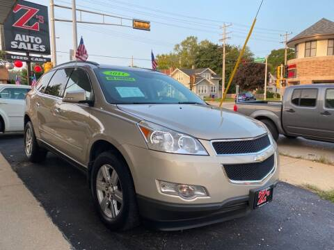 2011 Chevrolet Traverse for sale at Zs Auto Sales in Kenosha WI