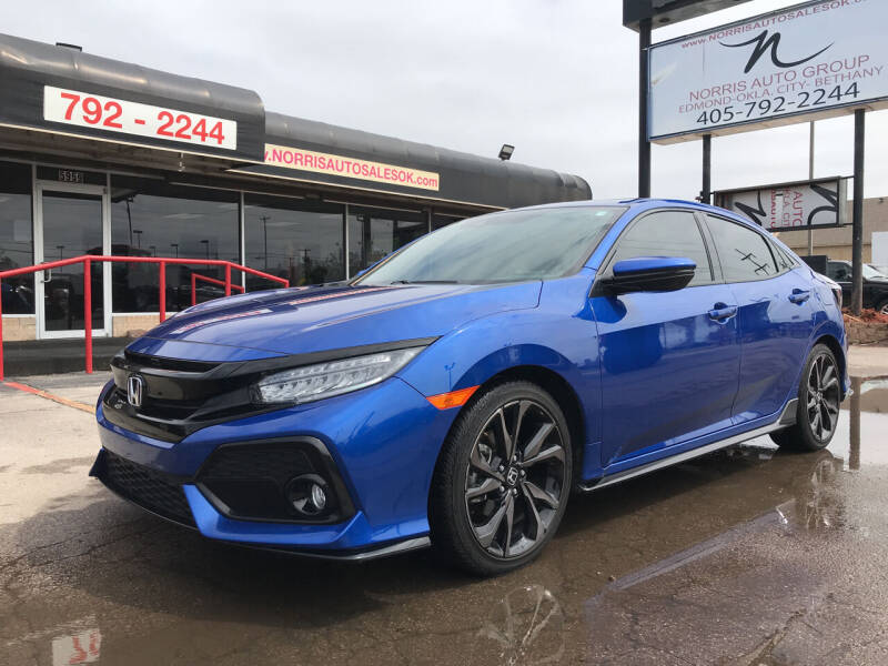 2018 Honda Civic for sale at NORRIS AUTO SALES in Oklahoma City OK