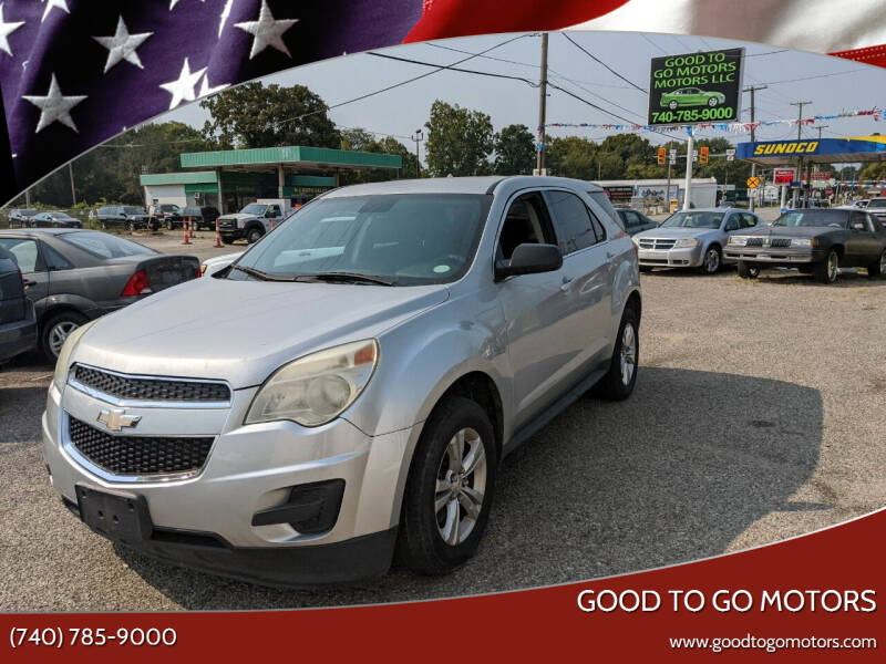 2012 Chevrolet Equinox for sale at Good To Go Motors in Lancaster OH