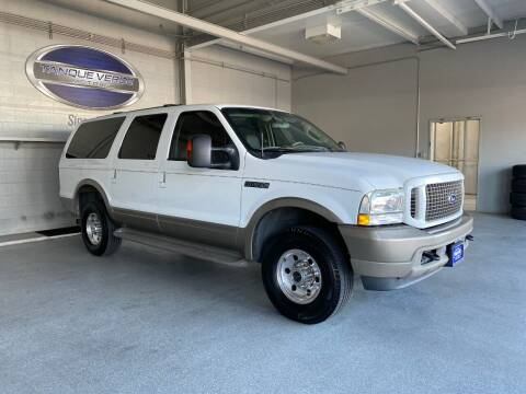 2004 Ford Excursion for sale at TANQUE VERDE MOTORS in Tucson AZ