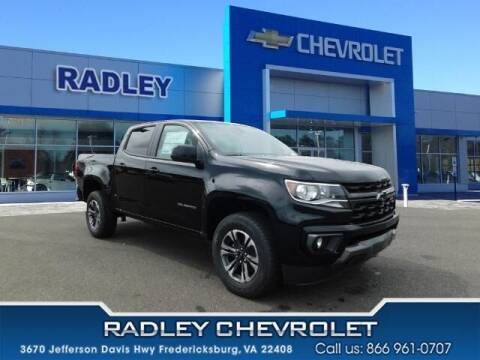 2021 Chevrolet Colorado for sale at Radley Cadillac in Fredericksburg VA