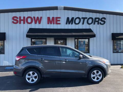 2016 Ford Escape for sale at SHOW ME MOTORS in Cape Girardeau MO