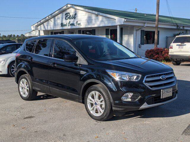 2017 Ford Escape for sale at Best Used Cars Inc in Mount Olive NC