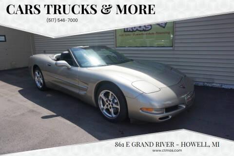 2001 Chevrolet Corvette for sale at Cars Trucks & More in Howell MI