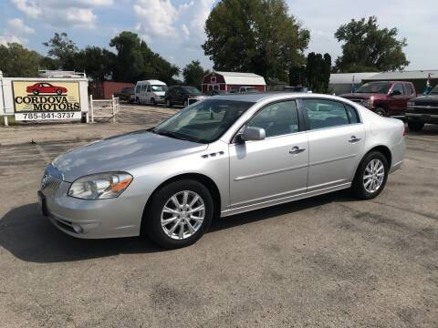 2011 Buick Lucerne for sale at Cordova Motors in Lawrence KS