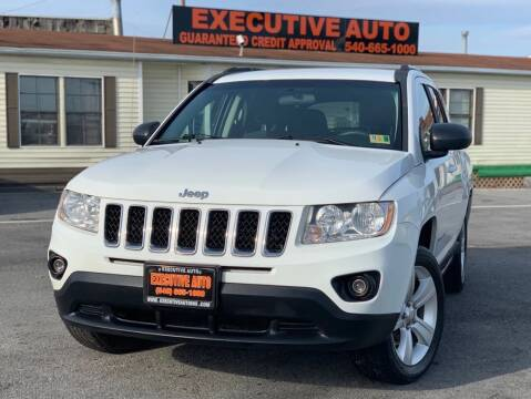 2012 Jeep Compass for sale at Executive Auto in Winchester VA