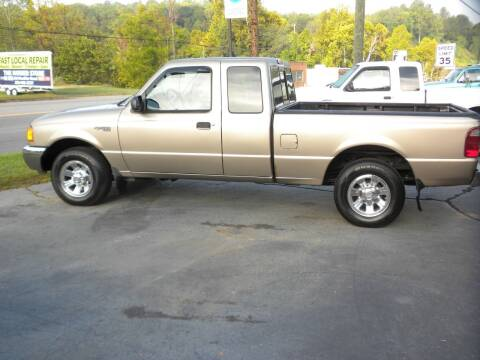 2003 Ford Ranger for sale at D & B Auto Sales & Service in Martinsville VA