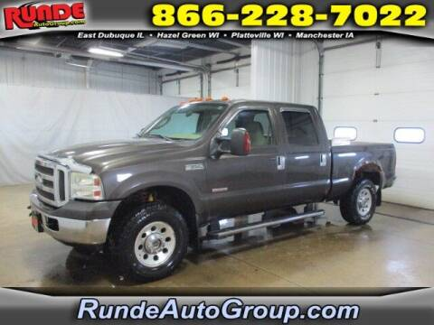 2005 Ford F-250 Super Duty for sale at Runde Chevrolet in East Dubuque IL
