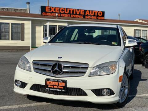 2009 Mercedes-Benz C-Class for sale at Executive Auto in Winchester VA
