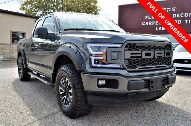 2018 Ford F-150 for sale at LAKESIDE MOTORS, INC. in Sachse TX