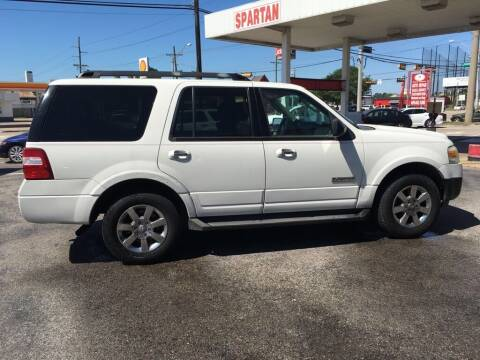 2008 Ford Expedition for sale at Spartan Auto Sales in Beaumont TX
